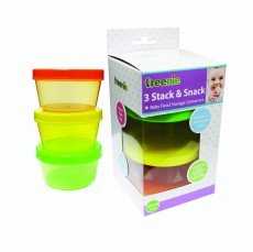 Treenie - 3pcs Stack and Snack Container x 12