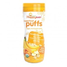 Happy Family - HB Organic Puffs (Banana Flavor) x 6