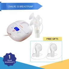 Promo July - Cimilre S3 Electric Double Breast Pump x 2
