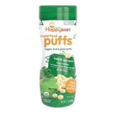 Happy Family - HB Organic Puffs (Green Flavor) x 6