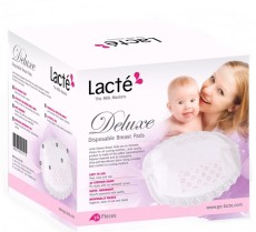 Lacte - Deluxe Disposable Breast Pad x 120