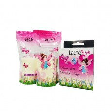 Lacte - B/milk Bag w thermal sensor 6oz Enchanted Garden x 24
