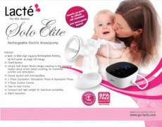 Promo March - Lacte Solo Elite Electric Breastpump x 6