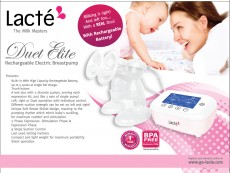 Lacte - Duet Elite Electric Breastpump x 6