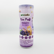 Natufoodies - Rice Puff - Blueberry x 12