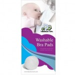 Fabulous Mom - Washable Bra Pads (6 pieces) *White* x 6