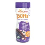 Happy Family - HB Organic Puffs (Purple Carrot & Blueberry) x 12