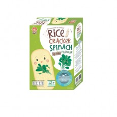 Apple Monkey - Original Rice Cracker 30G (Spinach) BB x 12