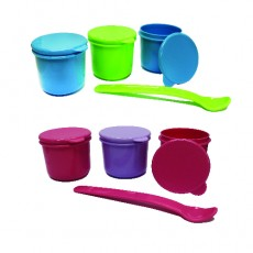 Treenie - Food Storage Container & Spoon Set x 6