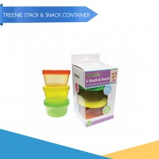 Promo April - Treenie 3pcs Stack and Snack Container x 12
