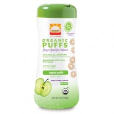 Happy Family - HB Organic Puffs (Apple Flavor) x 6 ( OOS )