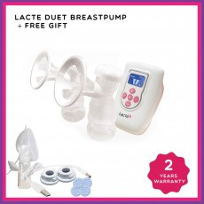 Promo July - Lacte Duet Electric Breastpump x 6 (H/Free)