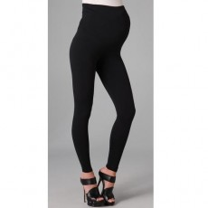 Mango Tree Maternity Leggings - Black
