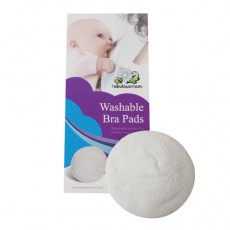 Fabulous Mom - Washable Bra Pads (4 pieces) *Off White* x 12