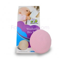 Fabulous Mom - Washable Bra Pads (4 pieces) *Pastel Pink* x 12