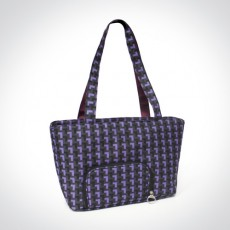 Jingle Jungle - Classy Breastpump Bag *Purple Zig Zag* x 3