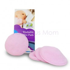 Fabulous Mom - Washable Bra Pads (6 pieces) *Lilac* x 12